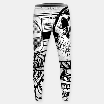 Thumbnail image of Boombox Skull Sweatpants, Live Heroes
