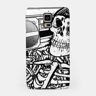 Thumbnail image of Boombox Skull Samsung Case, Live Heroes