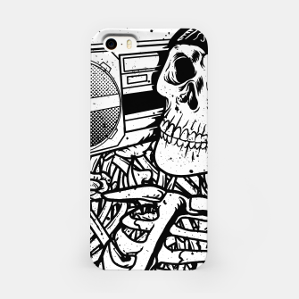 Thumbnail image of Boombox Skull iPhone Case, Live Heroes