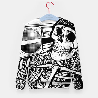 Thumbnail image of Boombox Skull Kid's sweater, Live Heroes