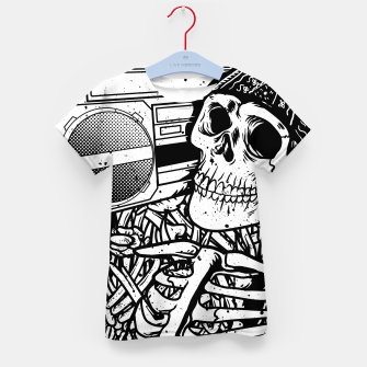 Thumbnail image of Boombox Skull Kid's t-shirt, Live Heroes