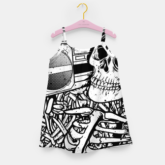 Thumbnail image of Boombox Skull Girl's dress, Live Heroes