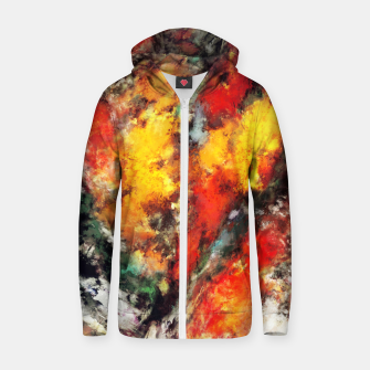 Thumbnail image of Clattering Zip up hoodie, Live Heroes