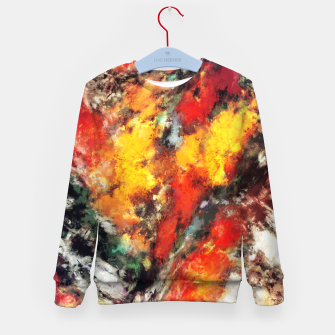 Thumbnail image of Clattering Kid's sweater, Live Heroes
