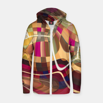 Thumbnail image of Inside Colors Zip up hoodie, Live Heroes