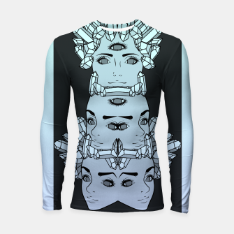 Thumbnail image of What Do You Want From Me Longsleeve rashguard , Live Heroes