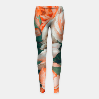 Miniaturka Seasons Blossom Girl's leggings, Live Heroes