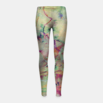 Thumbnail image of Paint 1 Leggings de fille, Live Heroes