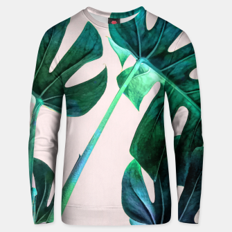 Thumbnail image of Wild Leaves Unisex sweater, Live Heroes
