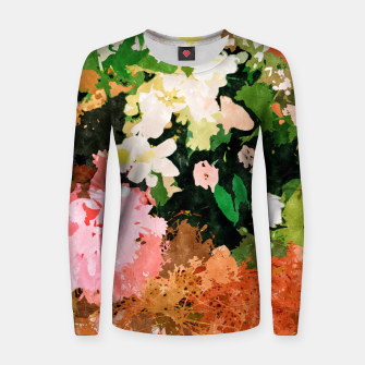 Thumbnail image of Floral Gift II Women sweater, Live Heroes