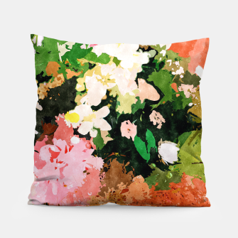 Miniatur Floral Gift II Pillow, Live Heroes