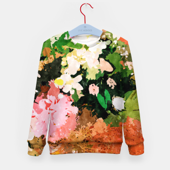 Thumbnail image of Floral Gift II Kid's sweater, Live Heroes