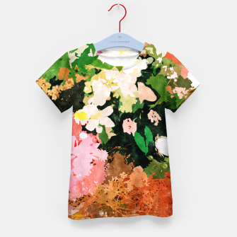 Thumbnail image of Floral Gift II Kid's t-shirt, Live Heroes