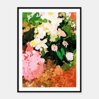 Thumbnail image of Floral Gift II Framed poster, Live Heroes