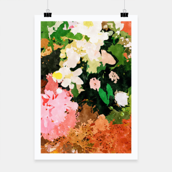Miniatur Floral Gift II Poster, Live Heroes