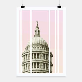 Thumbnail image of Pink Building Poster, Live Heroes