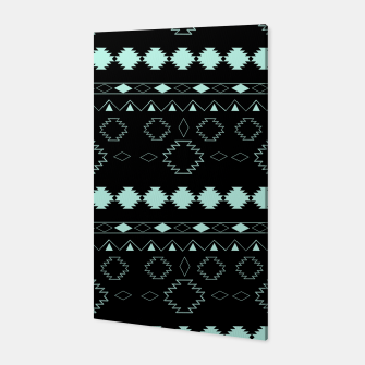 Thumbnail image of Tribal Boho Pattern Chic #3 #aztec #decor #art  Canvas, Live Heroes