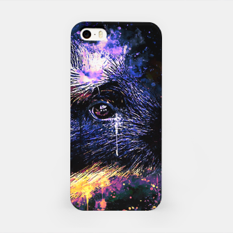 Thumbnail image of guinea pig colorful side portrait wsls iPhone Case, Live Heroes