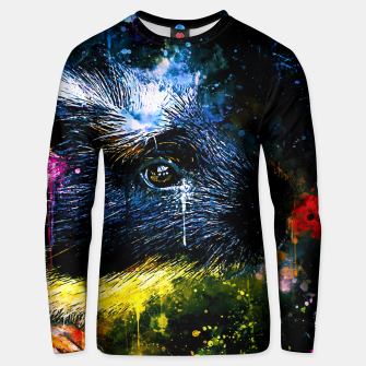 Thumbnail image of guinea pig colorful side portrait wsstd Unisex sweater, Live Heroes