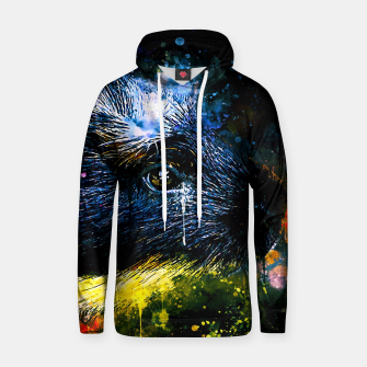 Thumbnail image of guinea pig colorful side portrait wsstd Hoodie, Live Heroes