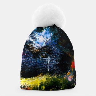Thumbnail image of guinea pig colorful side portrait wsstd Beanie, Live Heroes