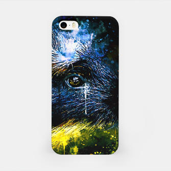 Thumbnail image of guinea pig colorful side portrait wsstd iPhone Case, Live Heroes