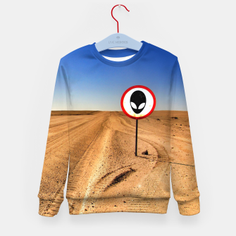 Thumbnail image of Watch out Kid's sweater, Live Heroes