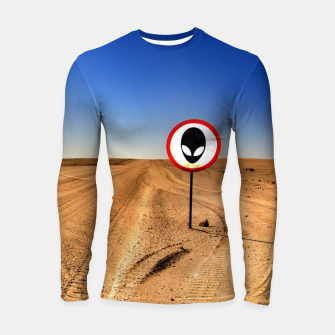 Thumbnail image of Watch out Longsleeve rashguard , Live Heroes