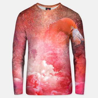 Miniatur Splashing Flamingo Unisex sweater, Live Heroes