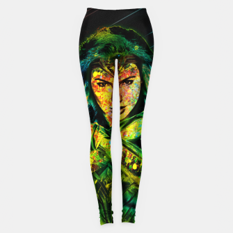 Thumbnail image of Wonder Woman Leggings, Live Heroes