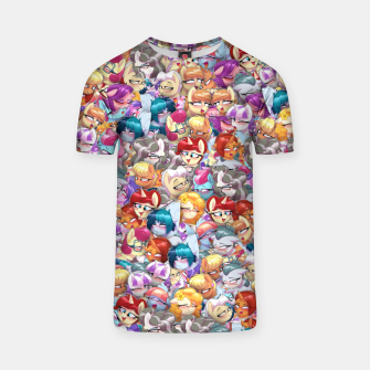 Thumbnail image of MLP ahegao T-shirt, Live Heroes