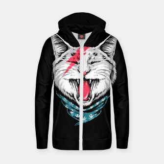Miniaturka Cat Rock Zip up hoodie, Live Heroes