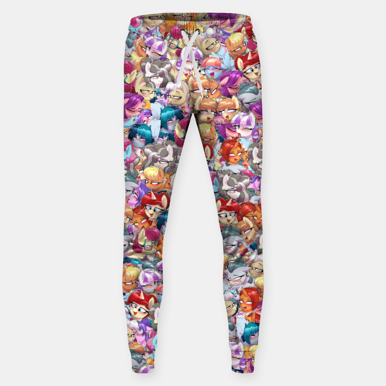 Image of MLP ahegao Sweatpants - Live Heroes