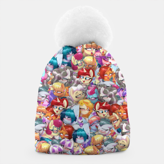 Thumbnail image of MLP ahegao Beanie, Live Heroes