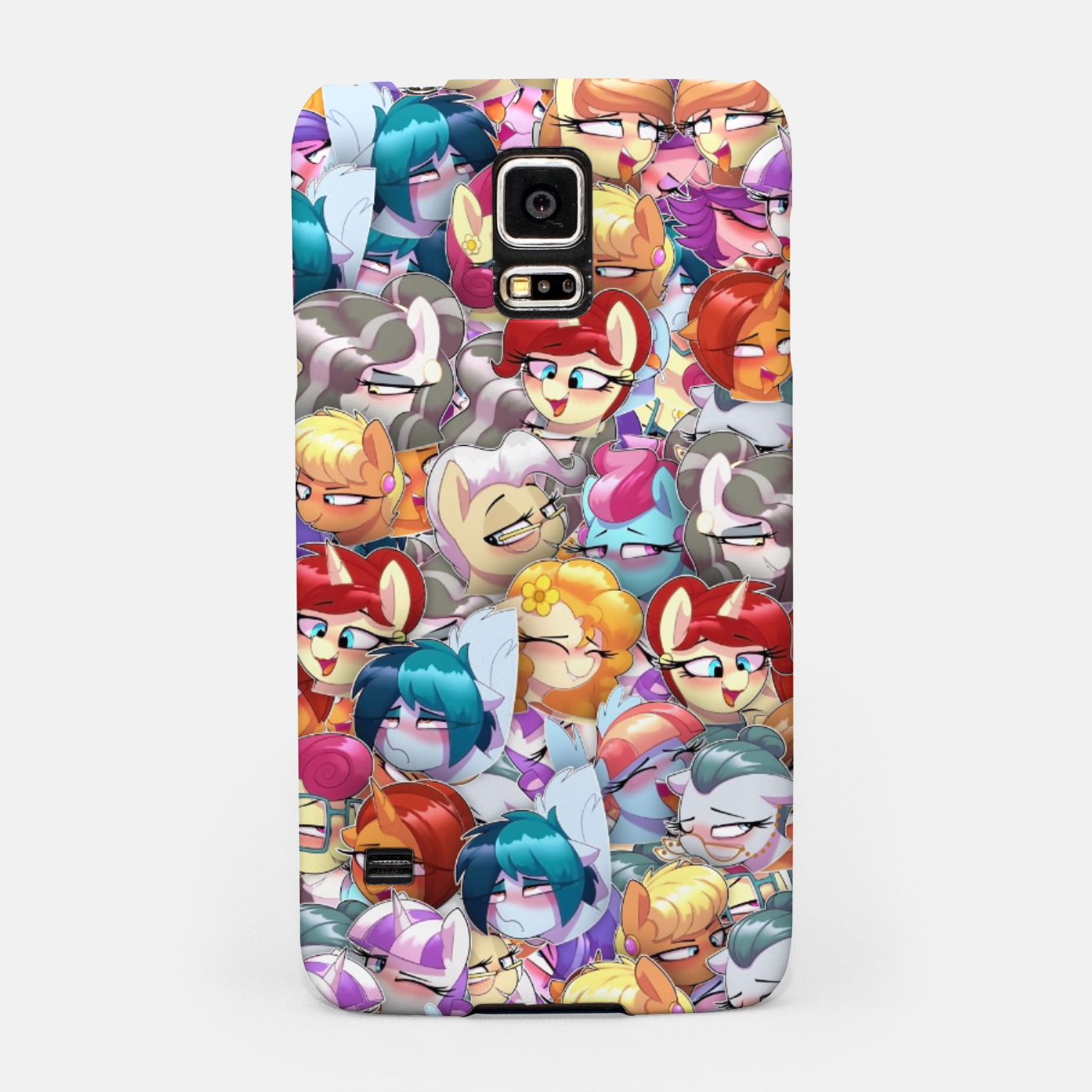 Image of MLP ahegao Samsung Case - Live Heroes