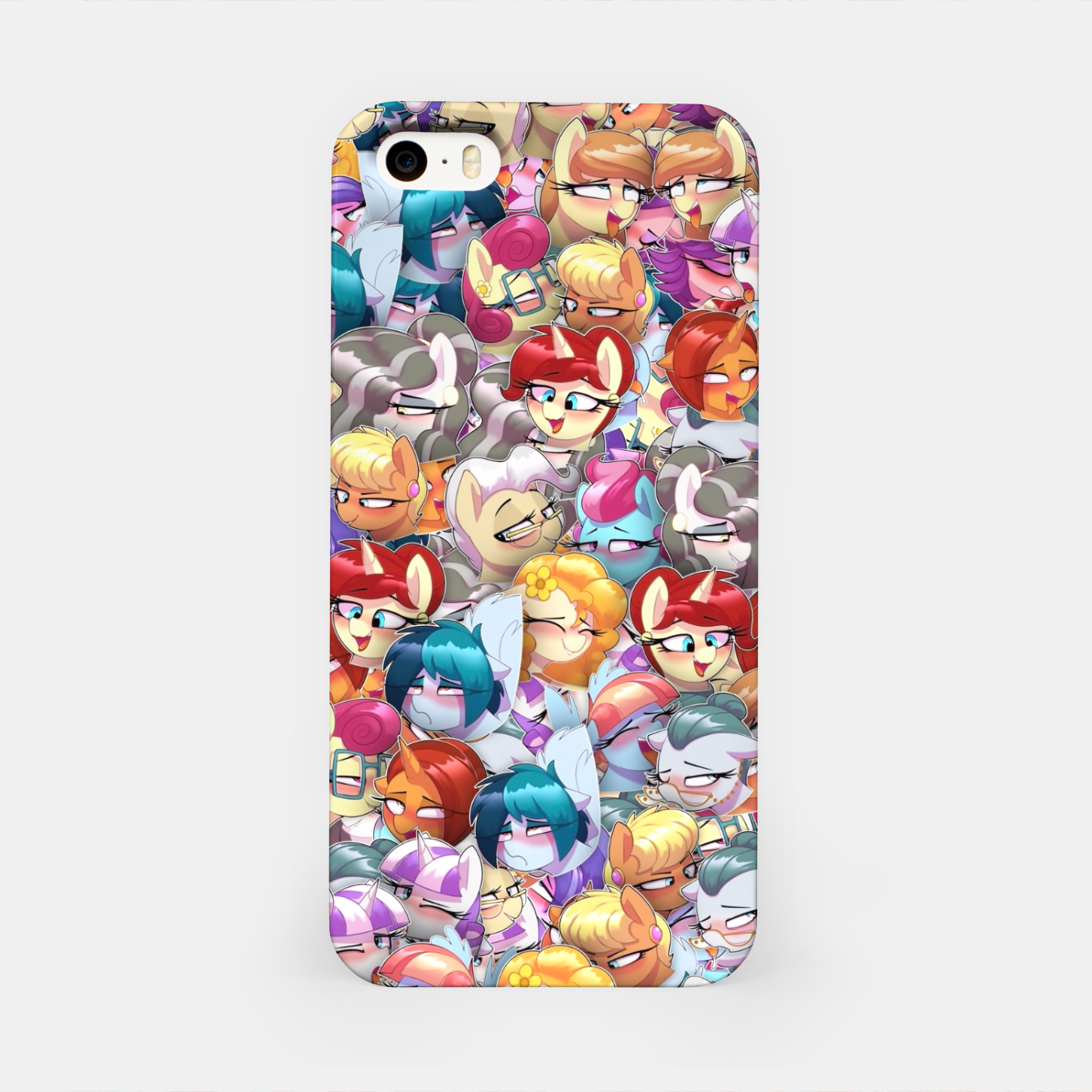 Image of MLP ahegao iPhone Case - Live Heroes