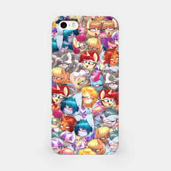 MLP ahegao iPhone Case thumbnail image