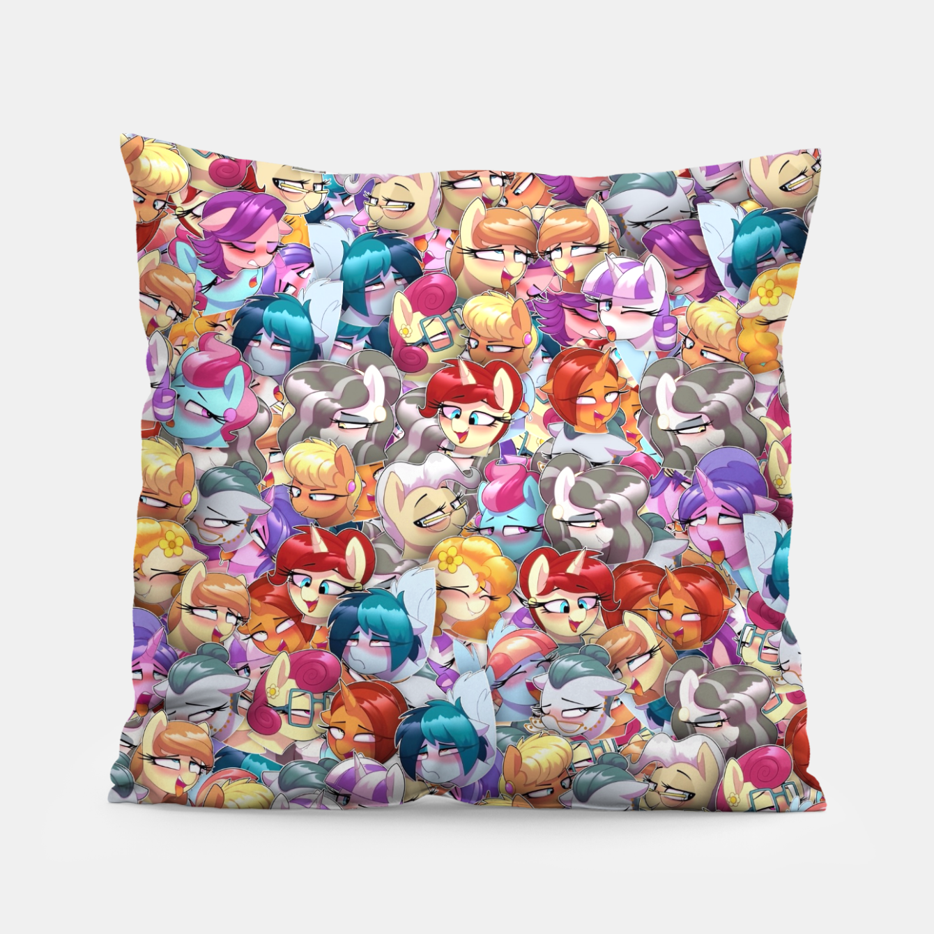 Image of MLP ahegao Pillow - Live Heroes