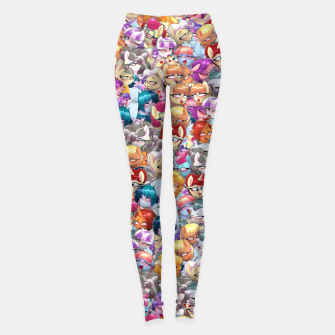 Thumbnail image of MLP ahegao Leggings, Live Heroes