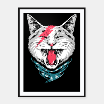 Thumbnail image of Cat Rock Framed poster, Live Heroes