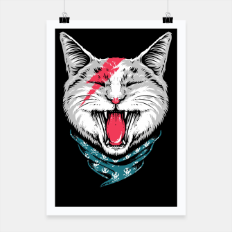 Thumbnail image of Cat Rock Poster, Live Heroes