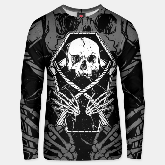 Miniaturka Coffin and Reaper Unisex sweater, Live Heroes