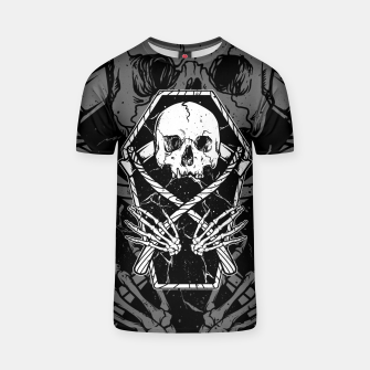 Miniaturka Coffin and Reaper T-shirt, Live Heroes
