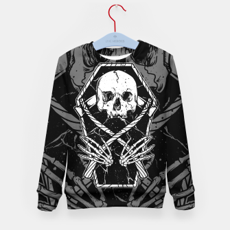 Miniaturka Coffin and Reaper Kid's sweater, Live Heroes