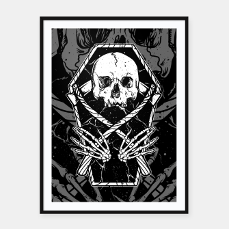 Miniaturka Coffin and Reaper Framed poster, Live Heroes