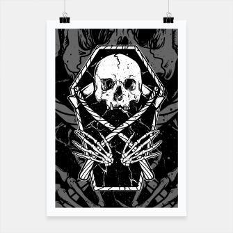 Miniaturka Coffin and Reaper Poster, Live Heroes