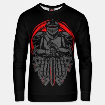 Thumbnail image of Death Knight Unisex sweater, Live Heroes