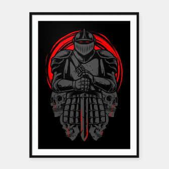 Thumbnail image of Death Knight Framed poster, Live Heroes