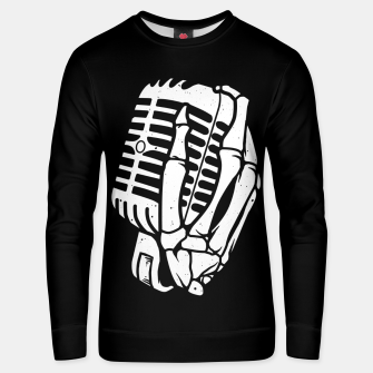 Thumbnail image of Death Singer Unisex sweater, Live Heroes