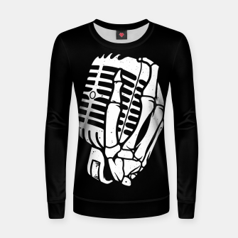 Thumbnail image of Death Singer Women sweater, Live Heroes